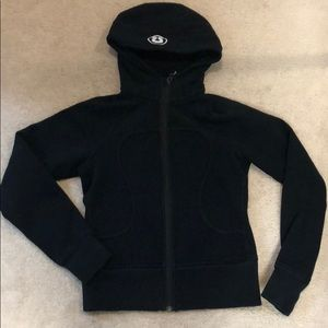 Lululemon Women's Scuba hoodie in Black. Size 4